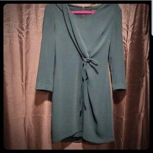 Armani Exchange Lined Teal Dress